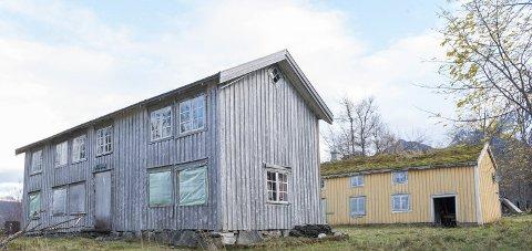 Tette bygg: Bygningene i Fonndalen skal nå være sikret mot videre forfall.Foto: Johan Votvik