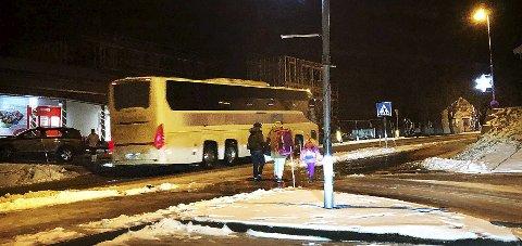 Må beholdes: Det mobiliseres nå politisk for å beholde det meget viktige busstilbudet mellom Hamarøy og Bodø.