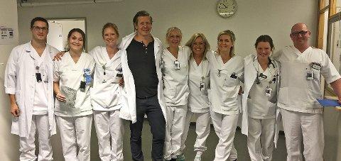 Får skryt: Teamet på akuttmottaket i Bodø får skryt for rask behandling av sepsispasienter. Foto: Privat