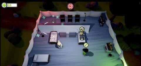 Spillet er bygd opp omkring to leger som jobber rundt om i verden, hvor de skal behandle pasienter. Skjermdump av demo