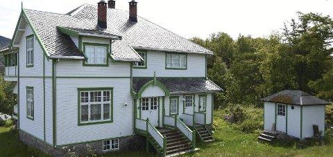 Utvides: Virksomheten på Villa Haugen Catering AS i Steigen skal utvides med nytt service- og restaurantbygg. Foto: Øyvind A. Olsen