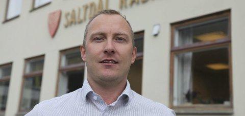 Viktig dag: Rådmann Ronny Seljeseth er svært fornøyd med at flere års hardt arbeid nå har betalt seg.
