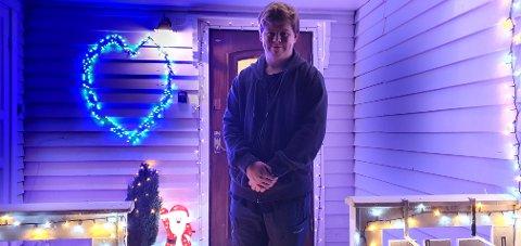 Per Morten Bjarnesen er sjefen for julepynten.