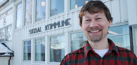 Hyggelig: Teknisk sjef i Sigdal Kjell Ove Hovde, er svært fornøyd etter at kommunen torsdag fikk årets Fagpris fra KLP.              ARKIVFOTO