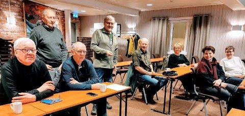 Tilstede: Oddvar Storhaug, Ole H. Jenssen, Kjell Kvernberg, Arnhild E. Bjerkan, Jarl Tuv, Sirpa L. Jensen, Åshild Ravlo og Bernt-Aksel Jensen.