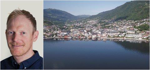 JOBB: Forskingsleiar for klima og miljø,  Halvor Dannevig er klar for tilsetja to nye forskarar i Sogndal.