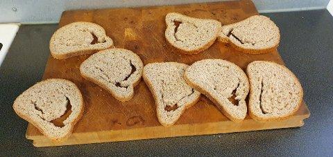 – Det var mer hull enn brød, sier Kirsti Nelvik Antonsen om kneippbrødet hun kjøpte tidligere denne uken.