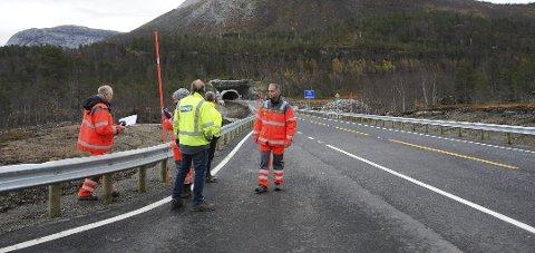 Økt fart: Det ligger til rette for å kunne øke farten på den nye E6-traseen fra Femtevasslia til Kråkmo, mener Hamarøy kommune.