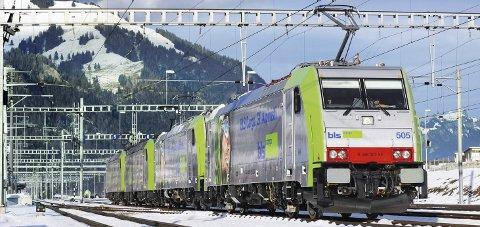 Traxx: Det er lokomotiv av denne typen, levert av Bombardier, som skal trafikkere Ofotbanen for Kaunis Iron. Foto: Bombardier