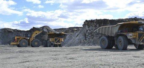 Kort tid igjen: Nå er det ikke lenge før gruvedriften i Pajala blir gjenopptatt. Dato for første salve er satt til 18. juli. Arkivfoto