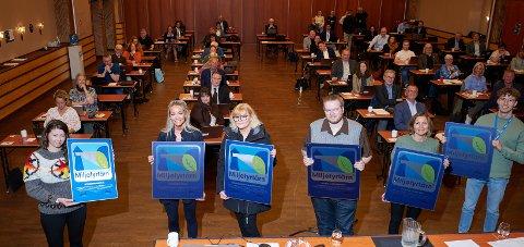 SERTIFISERT: Totalt er seks nye virksomheter i Narvik sertifisert som miljøfyrtårn.