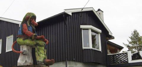 NY EIER: Marianne Støvreide har kjøpt fritidseiendommen til Per Otto Lunderby. Først blir det helgehus før hun etter hvert flytter inn.