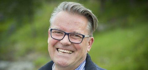 I toppen: Johan Aas fra Kongsvinger er innstilt som nummer på stortingslista for Hedmark Frp.