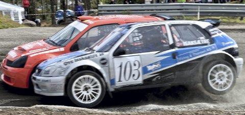 Ga alt: Espen Isaksætre holdt lite tilbake når han kjørte på «hjemmebane» på Finnskogbanen i helga, og endte på 2. plass.