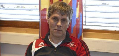 OPPTRENING: – Eleven gjør positive framskritt, og han skal snart starte opptrening hjemme i Kristiansand, sier Åge Steen ved NTG.
