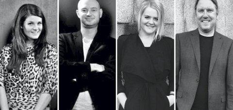 TO PAR I KIRKEN: Ola Welo og Marit S. Welo, Bjørge Verbaan og Jorunn Undheim inviterer til julekonsert i Vinger kirke 4. juledag.