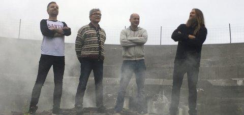 SPILLER: Bandet Senjahopen er et av tre rockeband som avslutter Lysukene med konsert lørdag.
