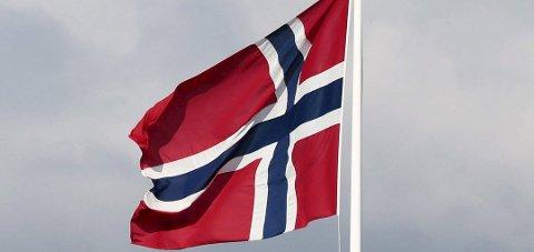Handelsflagget: Privatpersoner skal flagge med rektangulært handelsflagg.
