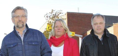 ORDFØRERE: Sjur Strand, Kongsvinger, Grete Sjøli, Nes og Knut Hvithammer, Sør-Odal purrer samferdselsministeren om det bebudede møtet for å drøfte E16.