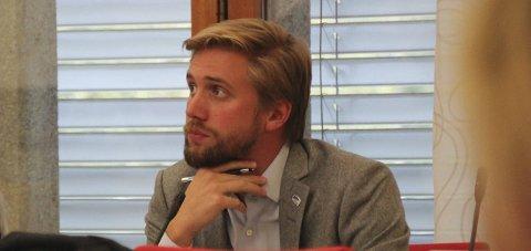 FREMMET FORSLAG: Lasse Lehre (H) ønsker bedre bredbåndsdekning på Hadeland.