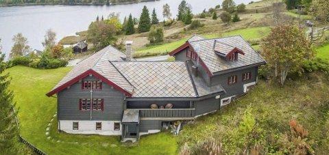 SOLGT: Denne hytta på Mylla er solgt for ni millioner kroner. Foto: DNB Eiendom