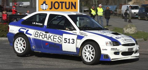 EN OG TO: Lars Morten Berntsen fra NMK Hadeland fikk en første- og en andreplass i NM-avslutningen i bakkeløp i helgen.