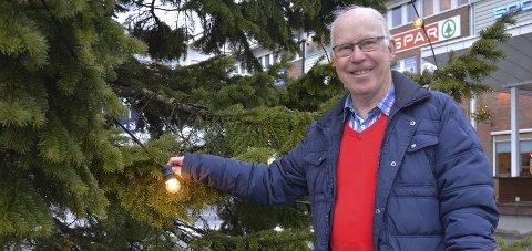 JULEMESSE: Arne Haugestøl  minner om julemesse på Lidskjalv lørdag.