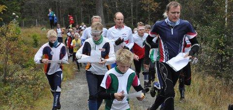 TRADISJON: Finn Skedsmos Minneløp avvikles lørdag. Her fra starten i 2013. Arkivfoto: Rune Pedersen
