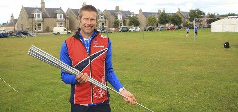 Sprinttrener: Emil Wingstedt trives som norsk sprinttrener under VM i Skottland, men vet ikke om han fortsetter i 2016.