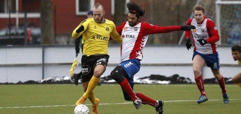 Omar Fonstad El Ghaouti (her i Moss-drakt) er aktuell for Kvik HFK.