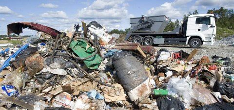 UTLEIE: Kommunestyret vedtok å avslutte salgsprosessen og heller forsøke uteleie av næringsdelen på Rokke avfallsanlegg.