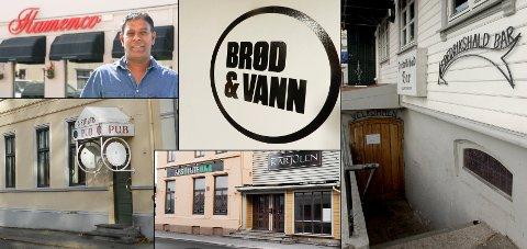 Flamence, Brød og Vann, Fredrikshald Bar, Siste Reis, Absolute Bar og Karjolen er blant serveringsstedene på Sydsiden. Til sammen er det 22 slike steder. Husker du alle?
