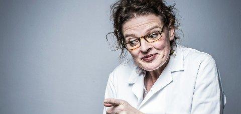 MONOLOG: Camilla Brandt framfører i kveld og lørdag monologen «Snø på Amygdala».