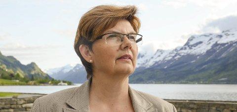 Solfrid Borge, ordførar i Ullensvang herad, seier ho er glad for at Senterpartiet har ein fin balanse både når det kjem til kjønn, geografi og alder. Arkivfoto