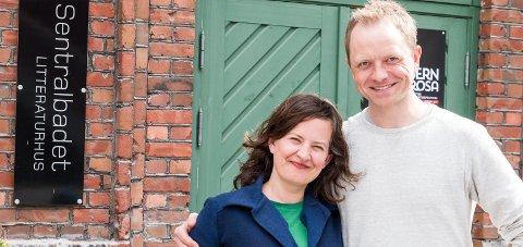 Litteraturhuset: Styreleiar Ingvild Ystanes og dagleg leiar Joakim Sørå.Arkivfoto: Sondre Lingås Haukedal