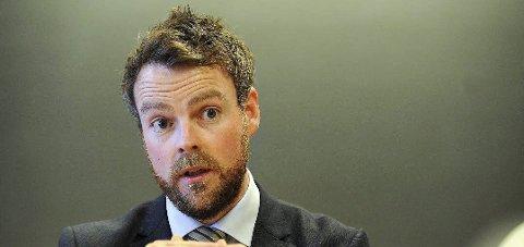 Arbeids- og sosialminister: Torbjørn Røe Isaksen (H). foto: Terje Pedersen/ANB