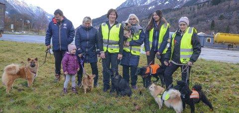 Felles front: Medlemmer i Hardanger Hundeklubb ønsker forbod mot privat fyrverkeri i Ullensvang, rådmannen er ikkje einig. Arkivfoto: Mette Bleken