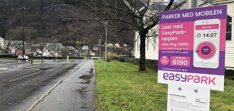 Kort levetid?: Mykje tyder på at Odda Parkering snart er historie, etter at det onsdag vart kjent at Ap vil avvikla ordninga. Foto: Ernst Olsen