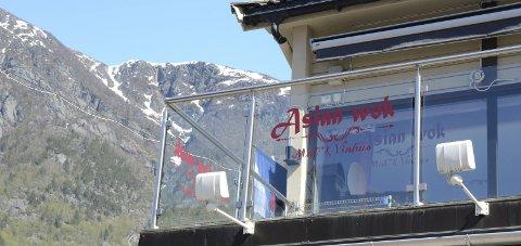 Asian Wok: Restauranten i Røldalsvegen 29, som hadde vært stengte siden 17. mars, åpnet dørene igjen i forrige uke. Arkivfoto: Ernst Olsen