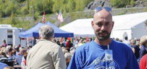 Skuffa: – Årets marknad i Røldal er dessverre avlyst, seier marknadskoordinator Vidar Lund. Arkivfoto