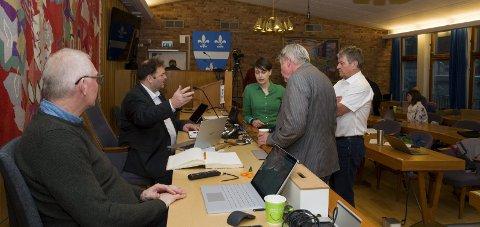 Få saker: Det digitale møte i formannskapet denne veka har berre to saker, pluss ein rapport frå rådmannen. Her frå 25. november i fjor.
