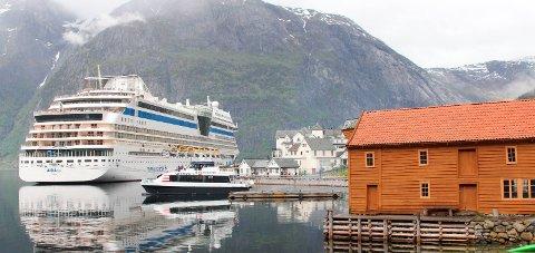 Eidfjord: Sommaren 2022 får Eidfjord besøk av eit skip frå reiarlaget Disney Cruise Line.Arkivfoto