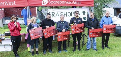 Skredløpet 2019: Sist løpet vart arrangert var i 2019. I 2020 måtte det avlysast på grunn av korona. arkivfoto: Inga Ø. Jaastad