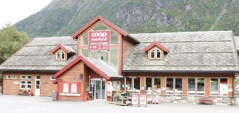 Coop Marked Røldal: Fra slutten av oktober blir dette en Prix-butikk – Coop Prix Røldal. Foto: Kristin Eide
