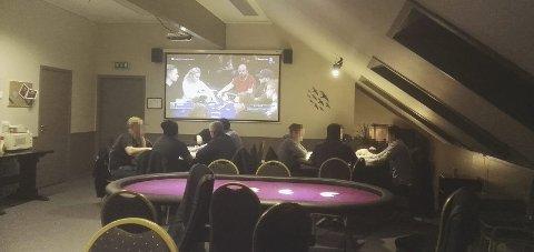 LOKALET: Det ulovlige spillet foregikk i dette lokalet. Å delta i pokerspillet er ikke lenger straffbart, men arrangørene må regne med å bli straffet. Arkivfoto: Privat