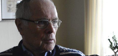 NY PRIS: Ole Karsten Leirvåg, leder i Haugesund og Omland lokallag av Blindeforbundet. FOTO: Marthe Synnøve Johannessen