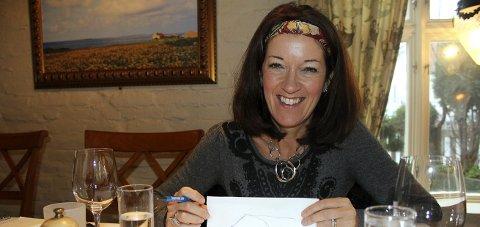 TIL Skudeneshavn: Suksessforfatter og bestselger Vicotria Hislop var sist på Karmøy i 2011. FOTO: TRULS HORVEI