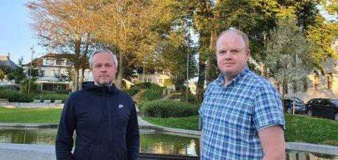 Bjørn Gunnar Husby og Svein Abrahamsen