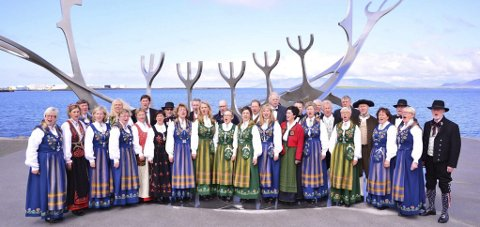 Gir gratiskonsert: Lørdag inviterer Helgeland Kammerkor til konsert på Kulturverkstedet i Mosjøen. Foto: Privat