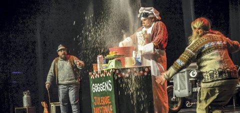 Jul igjen: Fredag 1. desember besøker Gråtass og vennene hans Mosjøen kulturhus med forestillingen TraktorJul.